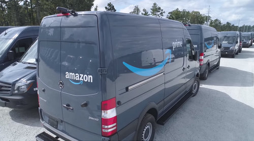 Amazon drivers received single wipe to clean vans before shifts ...